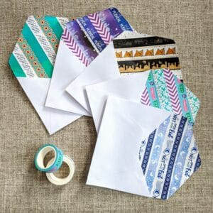 The Write Aesthetic Envelope-Liners-300x300 DIY Washi Tape Envelope Liners