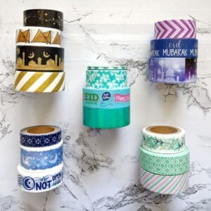 The Write Aesthetic color-stacks-300x300 DIY Washi Tape Envelope Liners