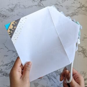 The Write Aesthetic cut-300x300 DIY Washi Tape Envelope Liners