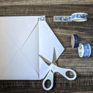 The Write Aesthetic flush-300x300 DIY Washi Tape Envelope Liners