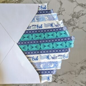 The Write Aesthetic step-3-300x300 DIY Washi Tape Envelope Liners